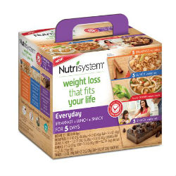 5 day nutrisystem weight loss kit