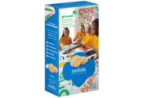 Trefoils with the girl scout cookie calories countdown