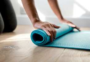 exercise mats help you stay off the couch